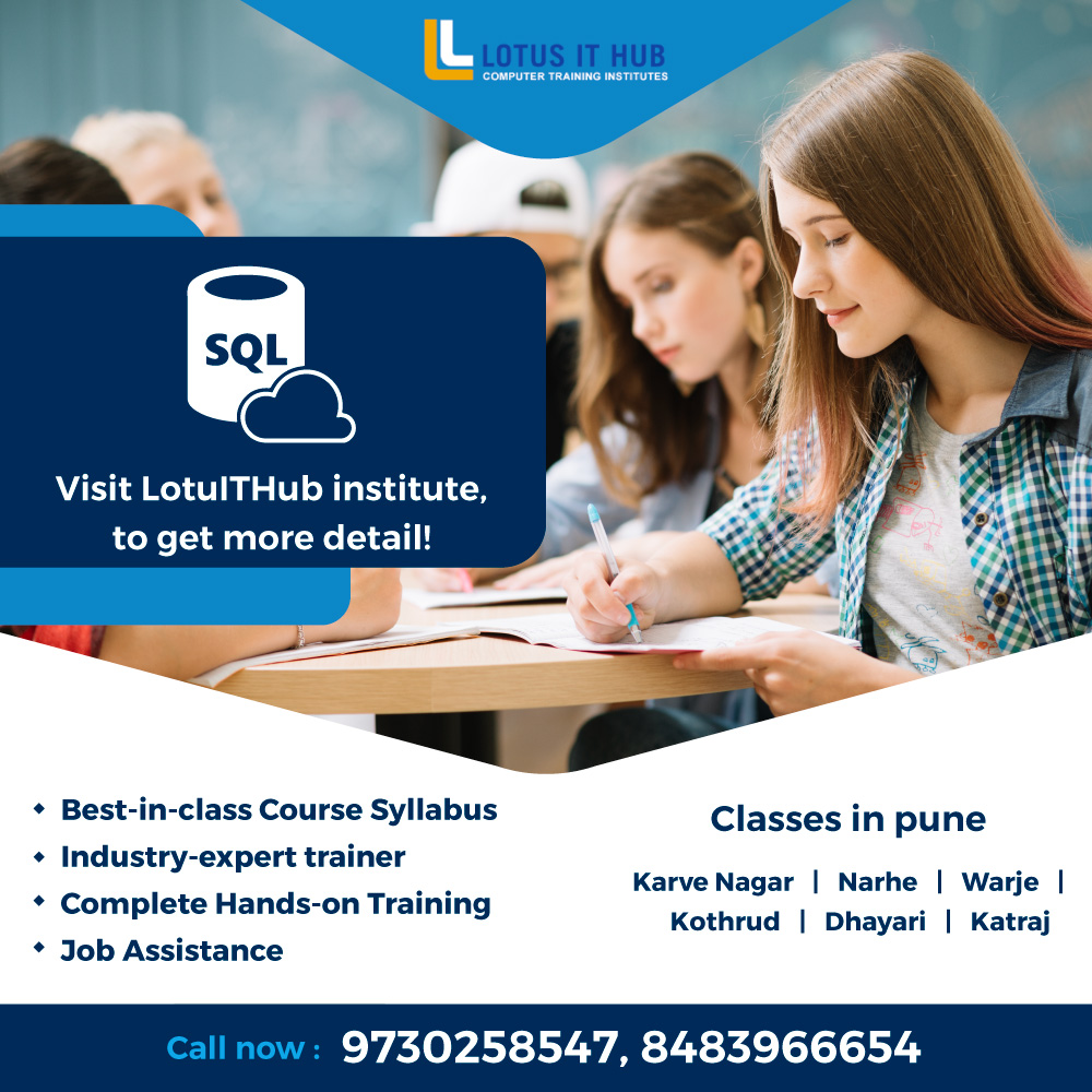 SQL coaching classes in Pune
