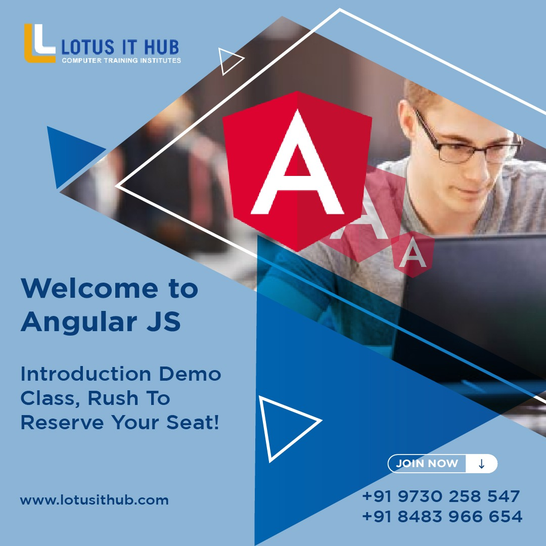 Angular JS training institute in Pune