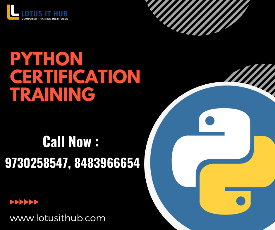 Data Science with Python Training Certification Course